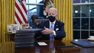 President Biden Signs 17 Executive Orders on First Day