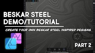 Beskar Steel Demo - Affinity Designer - Part 2