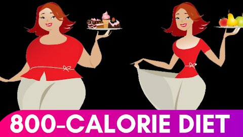 800 Calories Diet Plan For Weight Loss   800 Calorie Diet Benefits   Health Zone