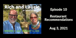 Episode 10 - Restaurant Recommendations