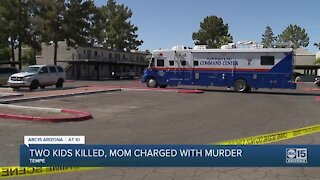 Mother facing murder charges after two children were found dead in Tempe apartment