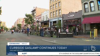 'Curbside Gaslamp' continues into weekend