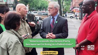 Green party presidential candidate speaks with ABC15