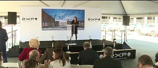 Groundbreaking ceremony for new expo center