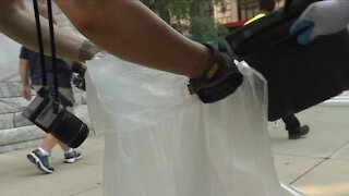 Volunteers hit Cleveland streets to clean up Public Square, surrounding areas