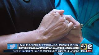 Families of homicide victims launch scholarship fund