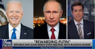 The Five' call out media hypocrisy over Biden-Putin meeting-1709