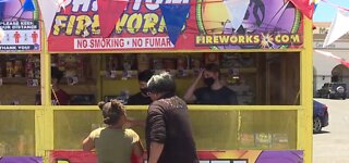 Independence Day fireworks selling quickly around Las Vegas