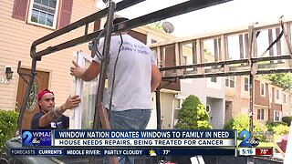 Window nation donates windows to family in need