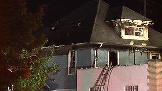 Akron house fire