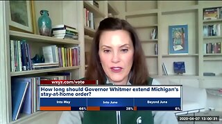 Governor Whitmer still deciding on extending stay-at-home order