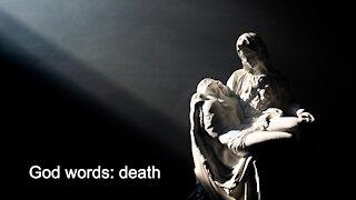 God words: death