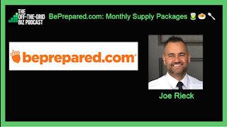 BePrepared.com: 1-Month Food Supply Package