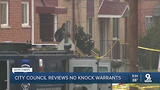 When should Cincinnati police be able to use no-knock warrants?