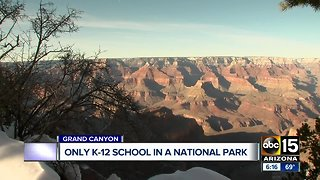 Grand Canyon home to only K-12 school on national park land.