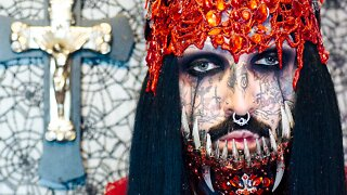 I'm Becoming A Tattooed Vampire | HOOKED ON THE LOOK
