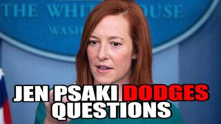 """Jen Psaki Dodging Questions SUPERCUT """"Circle Back"""""""