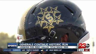 Shafter looking to continue historic run