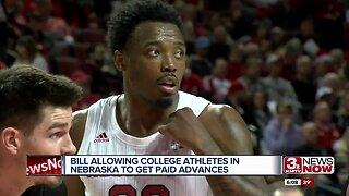Bill allowing college athletes to be paid advances in Nebraska legislature