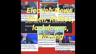 News for 11/1/20. Q posts, Kamala Double, Biden, trump rallies