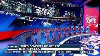 Tonight's Presidential debate will not include several candidates