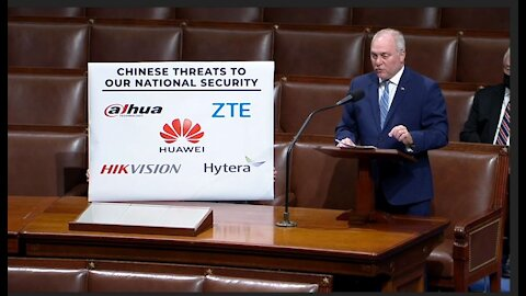 Rep. Steve Scalise calling out the CCP for compromising America's telecommunications networks