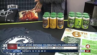 Celebrating Fort Myers Brewing's 6th birthday