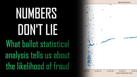 NUMBERS DON'T LIE - What Ballot Statistical analysis tells us about the likelihood of fraud