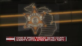COVID-19 spread through Wayne County Sheriff's Office after birthday party