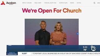 Church defying public health order