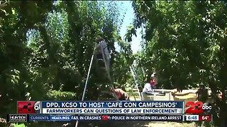 Delano Police hosts 'Cafe con un Campesino'