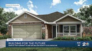 Habitat for Humanity plans $35M north Tulsa initiative