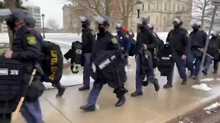 Local law enforcement prepared for planned protests at the state capitol
