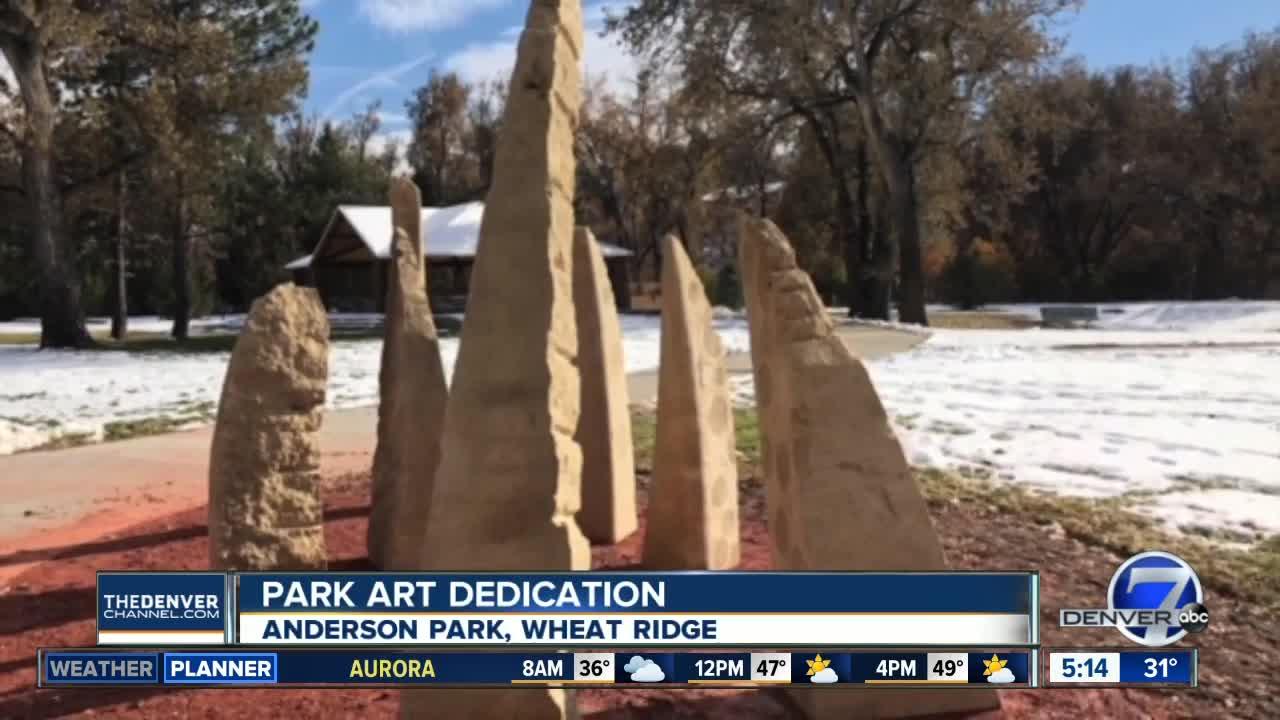 New art work in Wheat Ridge to be dedicated today