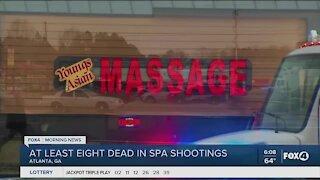 Shooting at Gerogia Spa leaves man dead