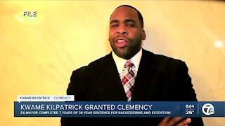 President Trump commutes sentence for former Detroit Mayor Kwame Kilpatrick