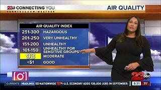 Warmer temperatures sticking around through the weekend
