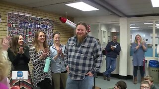 Outstanding educators receive surprise visits for Excellence in Education Shining Star Awards