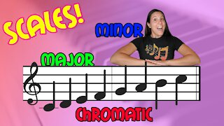 Scales! Major, Minor, & Chromatic | Music Theory | Musician's Addition
