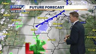 Light snow likely Wednesday night
