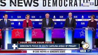 Democrats focus on South Carolina ahead of primary