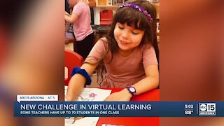 New challenge in virtual learning