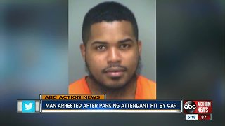 Florida man purposely hit LEO with car while getting parking ticket, records show
