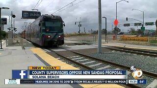 County Supervisors oppose transit plan
