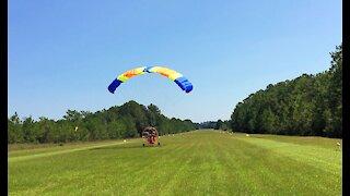 Powered Parachute take off (Pegasus)