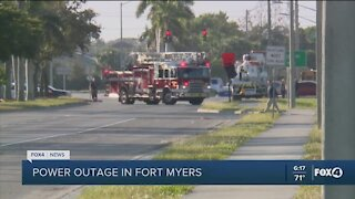 Fort Myers power outage