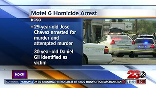 Arrest made in fatal Motel 6 shooting
