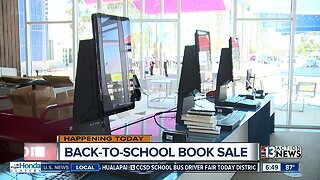 Back-to-School book sale