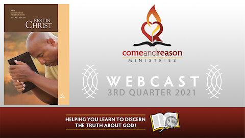 2021 Q3 Lesson 9: The Rhythmns of Rest (Aug. 28)