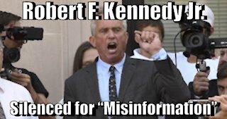 "Robert F. Kennedy Jr. Banned from Instagram for ""Misinformation"""